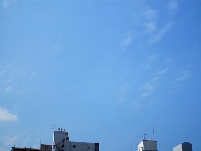 ここの空も見納め