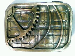 真鍮バックル(表)