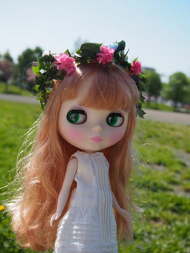 桜のニンフみたい?