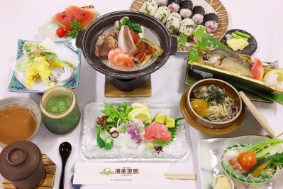 湯楽里館 宴会料理 7月