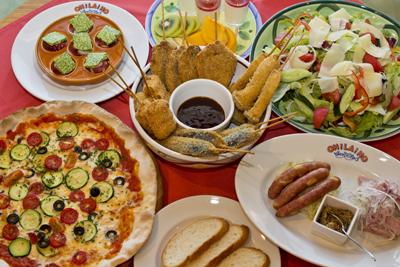 レストランオラホ 宴会料理