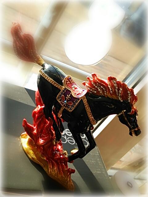 ブラック馬