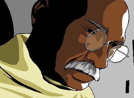 映画「ガンジー」観ました
