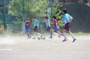 【2013年度 第40回 横浜市春季少年サッカー大会】青葉FC ブルー@保木グラウンド 少年サッカー