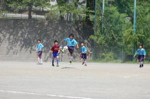 【2013年度 第40回 横浜市春季少年サッカー大会】青葉FC ブルー@保木グラウンド|少年サッカー