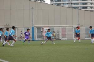 【2013年度第45回横浜国際チビッ子サッカー大会】 青葉FC Lブルー@マリノスタウン/少年サッカー