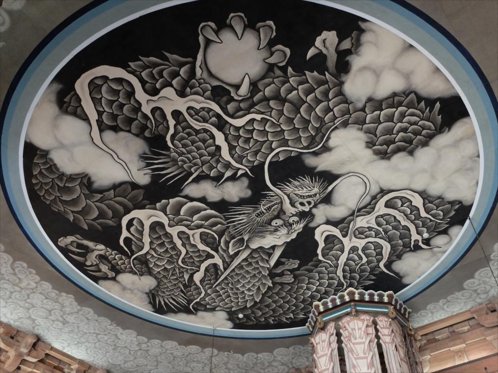 雲龍の天井図_2