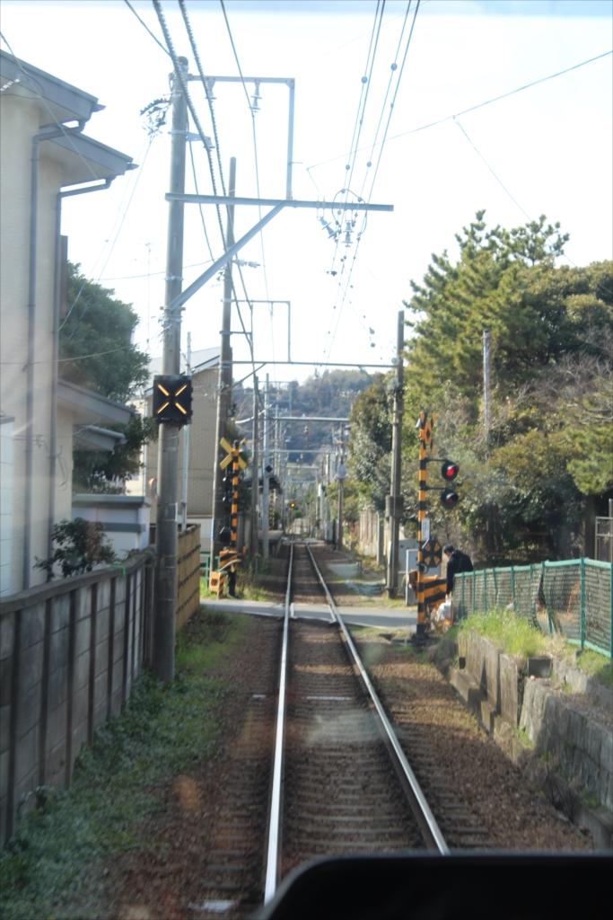 途中区間(和田塚-由比ヶ浜)
