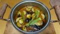 南インドの野菜カレー 20180802
