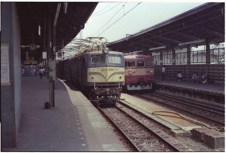 第1回上野駅EF58_レタッチ前