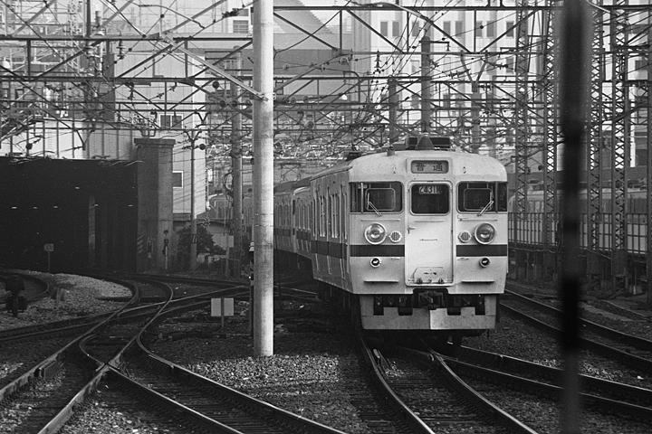 常磐線普通列車417系_上野駅