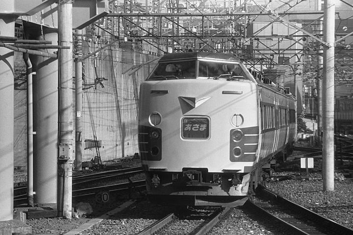 特急あさま189系_上野駅