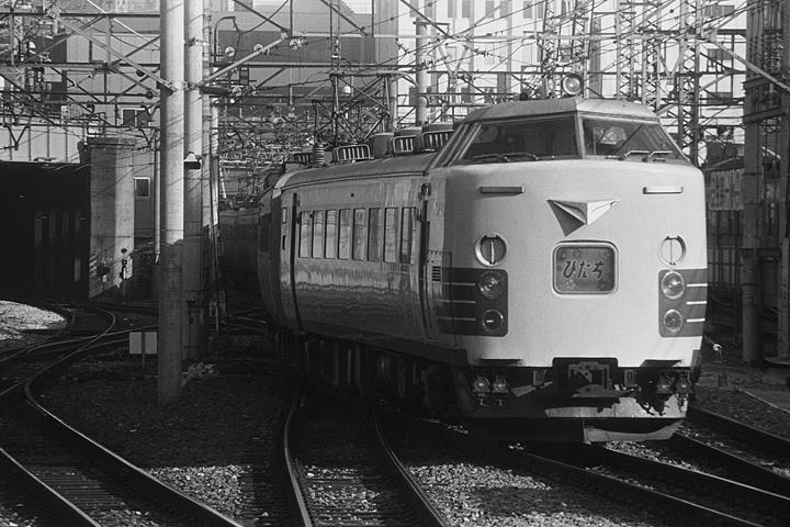 特急ひたち485系_上野駅