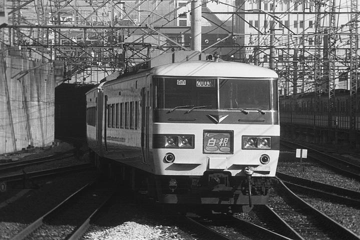 特急白根185系_上野駅