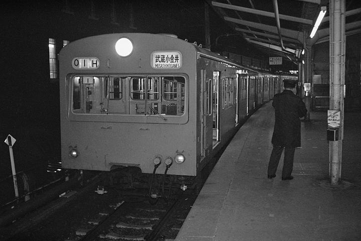 昭和60年正月_中央線101系_東京駅