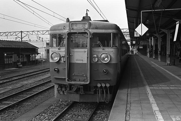 600318磐越西線455系_会津若松駅