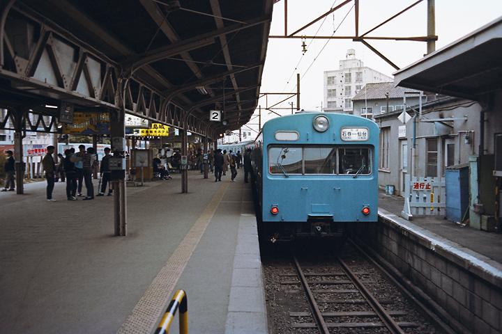600319仙石線103系_仙台駅