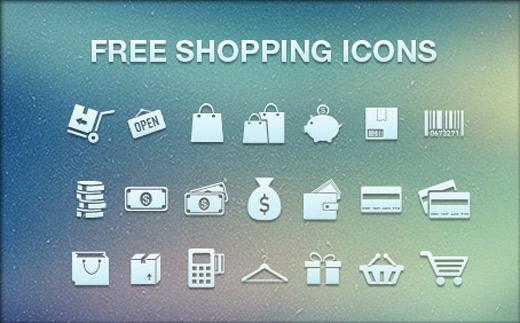 ショッピング用アイコン