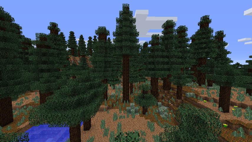 Mega Spruce Taiga