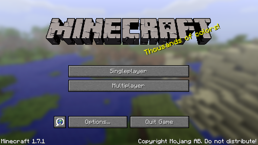 Minecraft 1-7-1