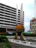 東武みずほ台駅 名称不明モニュメント 東口