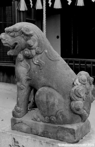湯里住吉神社(大阪市東住吉区湯里)1