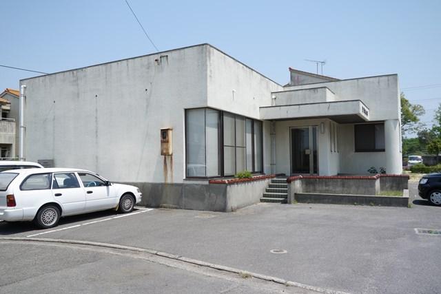 松前町営江川団地の集会所