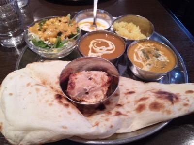 ランチ1 インド料理