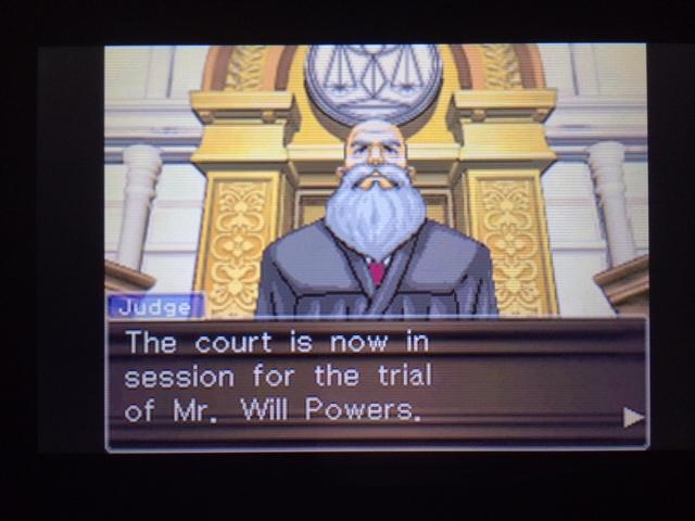 逆転裁判 北米版 パワーズ法廷1-2
