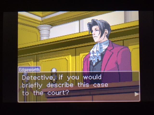 逆転裁判 北米版 パワーズ法廷1-11