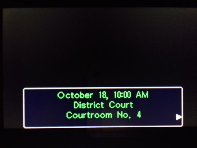 逆転裁判 北米版 パワーズ法廷1-1