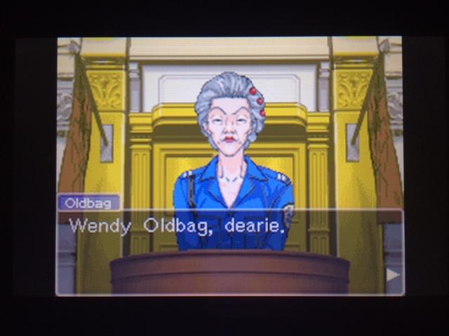 逆転裁判 北米版 オールドバグ証言10