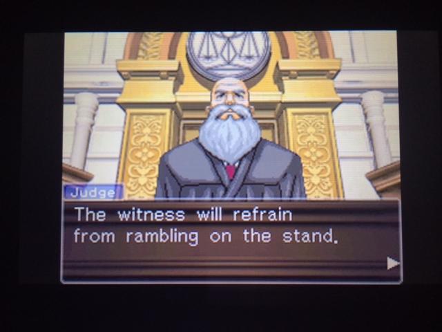 逆転裁判 北米版 オールドバグ証言19