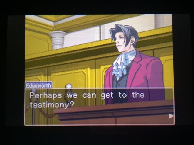 逆転裁判 北米版 オールドバグ証言21