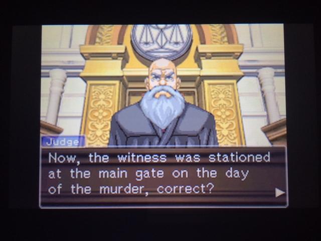 逆転裁判 北米版 オールドバグ証言22