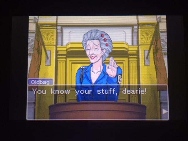 逆転裁判 北米版 オールドバグ証言25