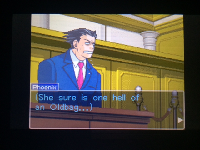 逆転裁判 北米版 オールドバグ証言27