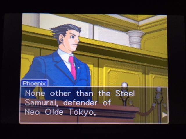 逆転裁判 北米版 オールドバグ証言43