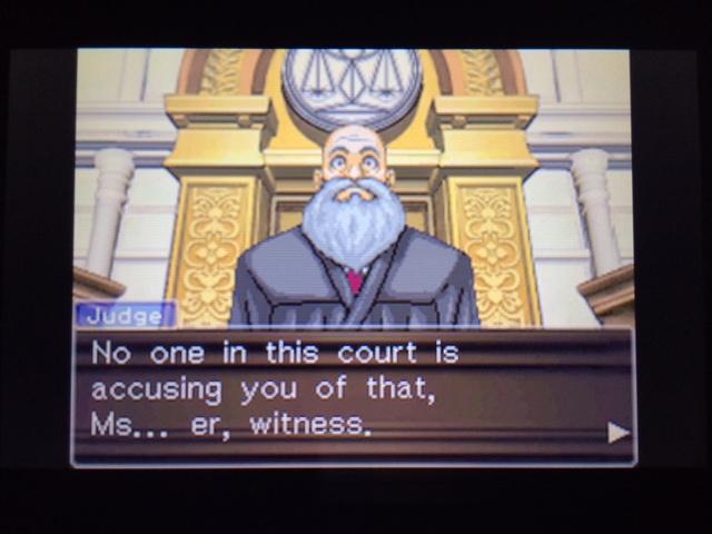 逆転裁判 北米版 オールドバグ証言54