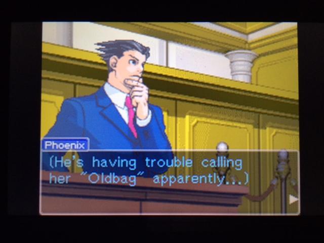 逆転裁判 北米版 オールドバグ証言55