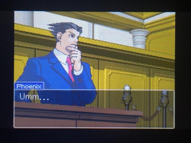 逆転裁判 北米版 オールドバグ証言80