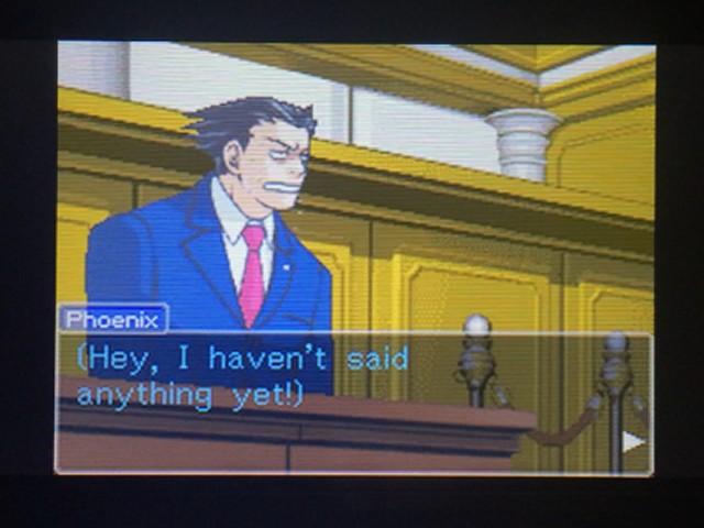 逆転裁判 北米版 オールドバグ証言82