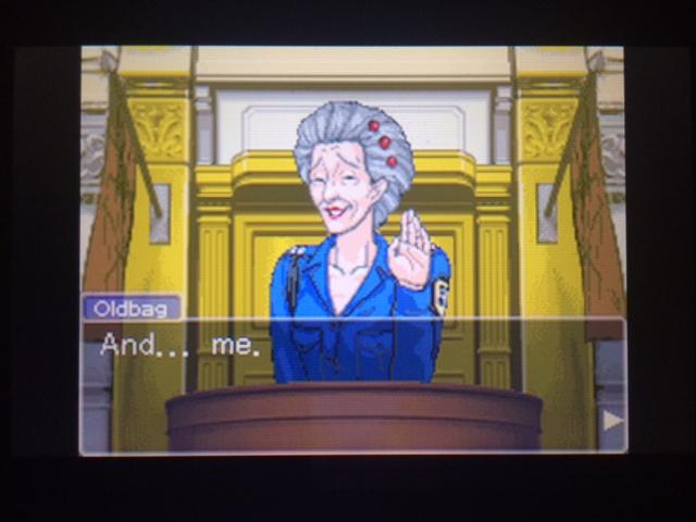 逆転裁判 北米版 オールドバグ証言91