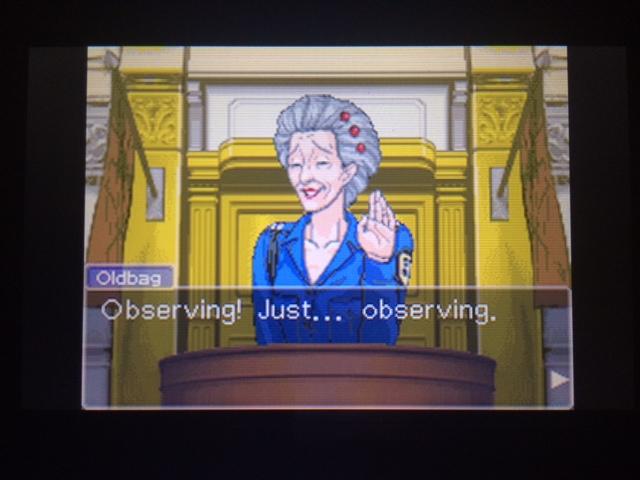 逆転裁判 北米版 オールドバグ証言93
