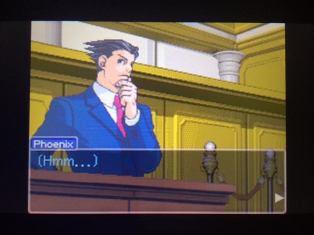 逆転裁判 北米版 オールドバグ証言106