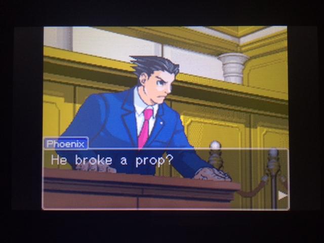 逆転裁判 北米版 オールドバグ証言108