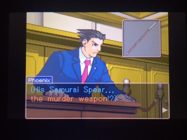 逆転裁判 北米版 オールドバグ証言110
