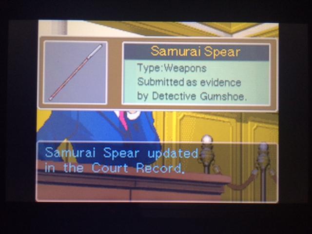 逆転裁判 北米版 オールドバグ証言113