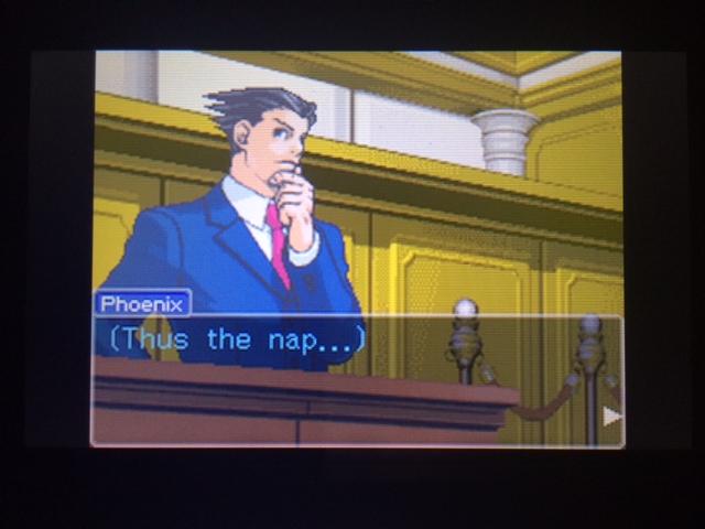 逆転裁判 北米版 オールドバグ証言117