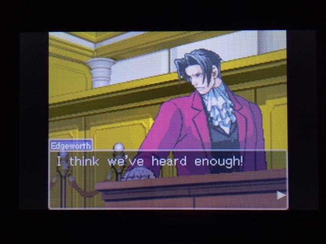 逆転裁判 北米版 オールドバグ証言120